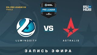 Luminosity vs Astralis - ESL Pro League Finals - de_train [GotMint, SleepSomeWhile]