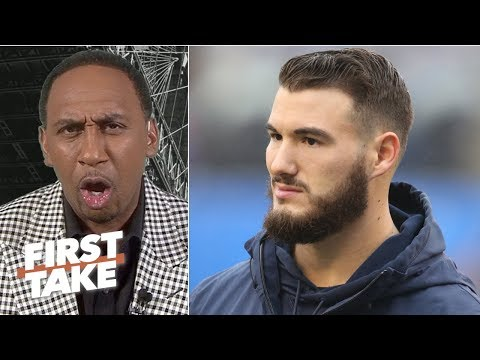 Video: Mitchell Trubisky is the Bears' biggest question mark this season – Stephen A. | First Take