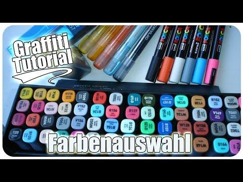 Graffiti Tutorial - Farbenauswahl