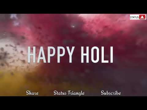 Holi Status video free download for WhatsApp