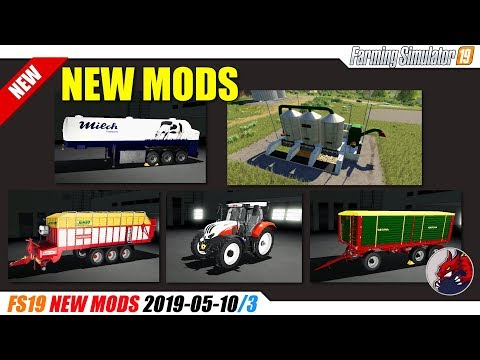 Milk transport semi-trailer v1.0.0.0