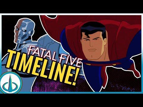 """JUSTICE LEAGUE vs THE FATAL FIVE"" Timeline - How Long After Justice League Unlimited?"