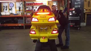 3. 2005 Honda Goldwing GL 1800 (yellow) 2190 Fallen Cycles