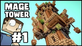 Minecraft Lets Build: Mage Tower - Part 1