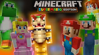 ABM: PRINCESS PEACH GOT CAPTURED!! Minecraft Mario Adventure!! HD