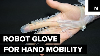 'Exo-Glove Poly' was developed by SNU Biorobotics Lab to assist people with limited hand function perform basic tasks with ease.READ MORE: http://mashable.com/FACEBOOK: https://www.facebook.com/mashable/TWITTER: https://twitter.com/mashableINSTAGRAM: https://www.instagram.com/mashable/