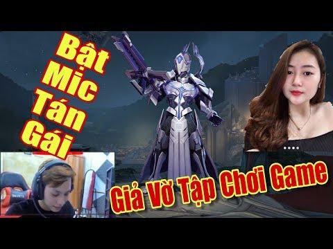 [Gcaothu] Youtuber lần đầu bật mic tán gái xinh - Giả vờ không biết chơi game nhờ gái kéo - Thời lượng: 22:43.