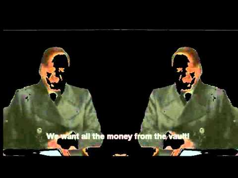 Downfall parody: Hitlers are trying to rob a bank