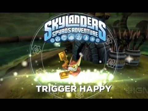 preview-Skylanders Spyro\'s Adventure: Trigger Happy Trailer (IGN)