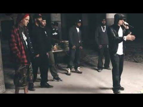 Eminem Shocks Rapper at BET Cypher