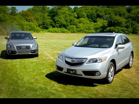 2013 Acura RDX vs. 2012 Audi Q5 – Vehicle Comparison