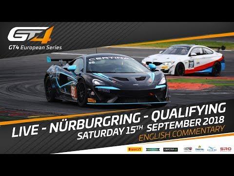 Qualifying - Nurburgring - GT4 European Series 2018 - English