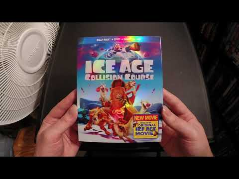Ice Age: Collision Course Blu-Ray Unboxing