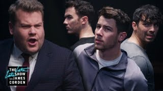 James Corden Kidnaps The Jonas Brothers