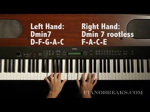 Jazz Piano Lick Lessons - Lick #1