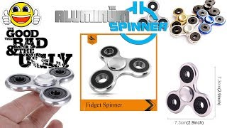 This is a video of an aluminum spinner I got from eBay and a test of how long the thing spins for...Thanks for watching