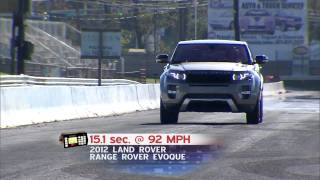 Road Test: 2012 Land Rover Range Rover Evoque