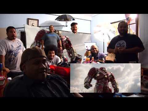 Marvel's AVENGERS: INFINITY WAR TRAILER 2 (Palauan Reaction) (видео)