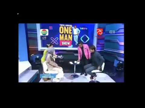 LESTI DAN RIZKY BILLAR MAIN TEBAK KATA   one man show indosiar