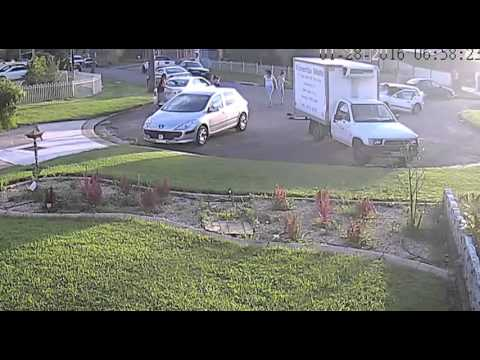 SHOCKING: Hit And Run Caught On Tape! (Video)