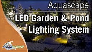 LED Pond and Landscape Lighting System by Aquascape