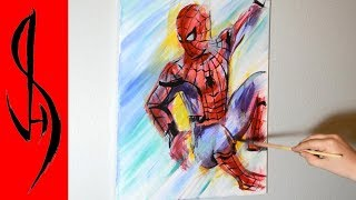 Painting Spiderman with acrylic paints on canvas.►  The Final Imagehttp://jonathanstephenharris.com/gallery/paintings/spiderman►  Pre-order My Optical Illusion Drawing Book https://www.amazon.com/dp/1633223558Materials used:  16x20 stretched canvas, acrylic paintsThank you for watching!Connect With Me On Social: WEBSITE:    http://www.jonathanstephenharris.comFACEBOOK: https://www.facebook.com/Jonathan.Stephen.HarrisFACEBOOK: https://www.facebook.com/JSHStudioGalleryINSTAGRAM: http://instagram.com/jonathanstephenharrisSOCIETY6:    http://society6.com/JSHartsSAATCHIART:   http://www.saatchiart.com/jshPATREON:         https://www.patreon.com/JSHMUSIC: Hero's Theme by Twin Musicom is licensed under a Creative Commons Attribution license (https://creativecommons.org/licenses/by/4.0/)Source: http://www.twinmusicom.org/song/280/heros-themeArtist: http://www.twinmusicom.org
