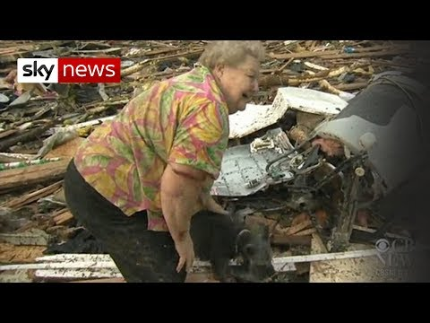 Oklahoma Tornado: Dog Emerges From Debris_Breaking news of the week