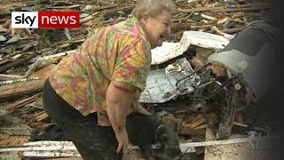 Oklahoma Tornado: Dog Emerges From Debris