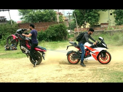 Video PULSAR 220 VS KTM RC 200 TOCHAN TEST download in MP3, 3GP, MP4, WEBM, AVI, FLV January 2017