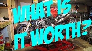 10. What is a $275 2003 Honda CB900F 919 actually worth?