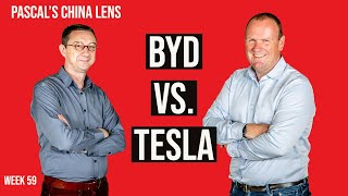 BYD and Tesla