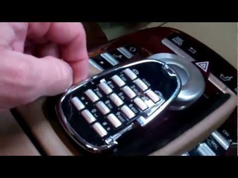 2007 Mercedes S550 Center Wrist Rest Repair Procedure