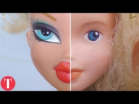 Video This Is What DOLLS Look Like Without Makeup download in MP3, 3GP, MP4, WEBM, AVI, FLV January 2017