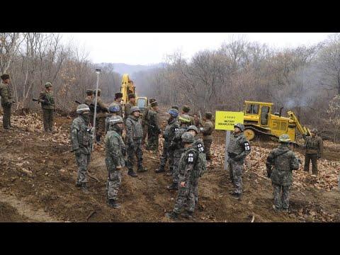 Nord- und Südkorea: Neue Straße durch die entmilitari ...