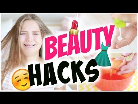 BEAUTY HACKS! ~ nie wieder MITESSER, kaputte Nagelhaut... | Julia Beautx