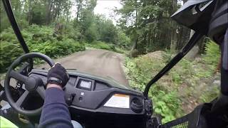 6. Honda pioneer 500 trail ride + top speed