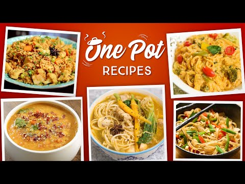 Easy One Pot Meals | Veg Tehri | Casserole | One Pot Pasta | Thukpa | Noodles | 7 Instant Recipes