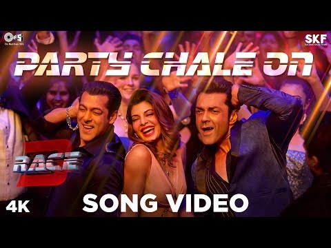 Party Chale On Song Video - Race 3 | Salman Khan |