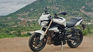 8. Project Upshift Triumph Street Triple Review