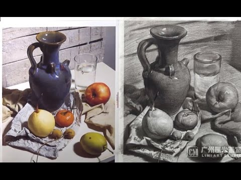 How To Draw Still Life in Pencil #2