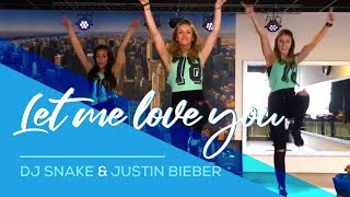 Video Let me love you - DJ-Snake & Justin Bieber (Remix Slander&B-Sides) Easy Fitness Dance Choreography MP3, 3GP, MP4, WEBM, AVI, FLV September 2017