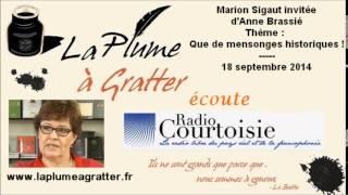 Video Marion Sigaut sur Radio Courtoisie – Que de mensonges historiques ! (18 septembre 2014) MP3, 3GP, MP4, WEBM, AVI, FLV Juni 2017