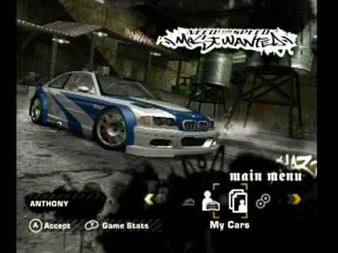 need for speed most wanted gamecube iso