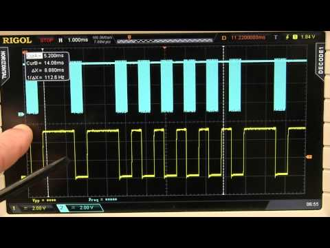 506 - How to capture and reverse engineer an infrared IR code and use an Arduino or other microcontroller to replay the command. Oscilloscope and logic analyser ca...