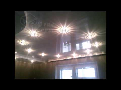 Подвесные потолки и освещение