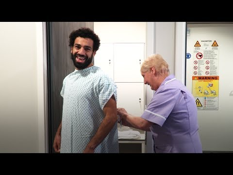Salah's first day at LFC | Signing day vlog series