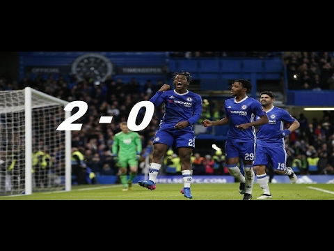 Wolverhampton vs Chelsea 0-2 - All Goals & Extended Highlights  18/02/2017