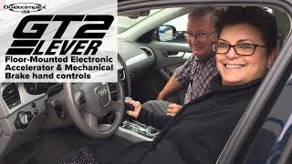 Electronic Accelerator & Mechanical Brake Hand Controls video shared by AMS Vans