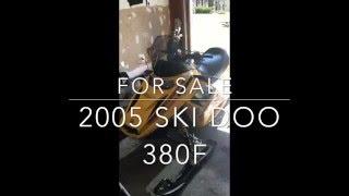 9. 2005 Ski doo 380f