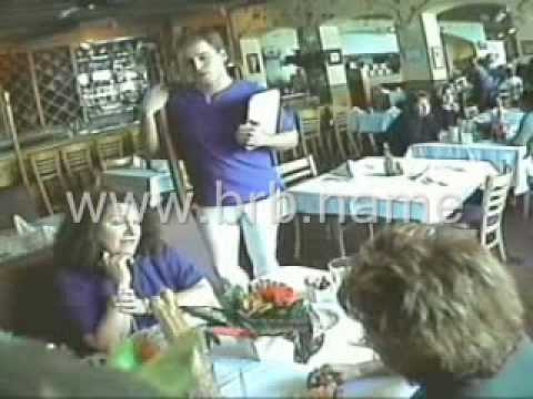 Waiter surprises the ladies with his HUGE ... [Very Funny!]